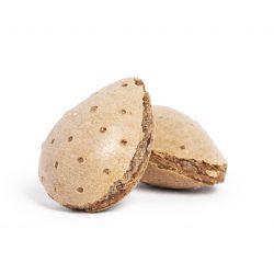 Almendras de turrón a la piedra con chocolate. Turrones Picó Masà