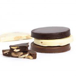 Mini tortas tres chocolates Picó Masià