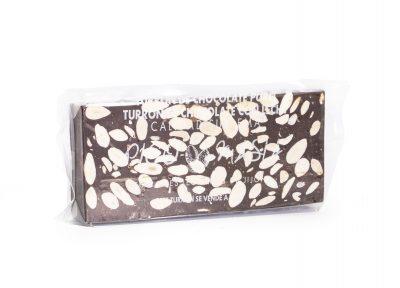 turron de chocolate negro con almendras Picó Masià